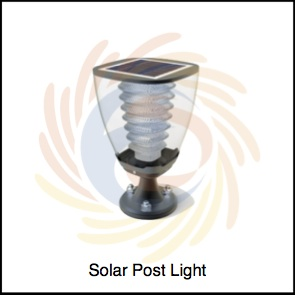 Solar Post Light by SolarBrunei.com