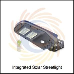 Integrated Solar Streetlight available at SolarBrunei.com